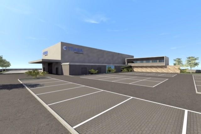 Construction du nouveau siège de Teaga